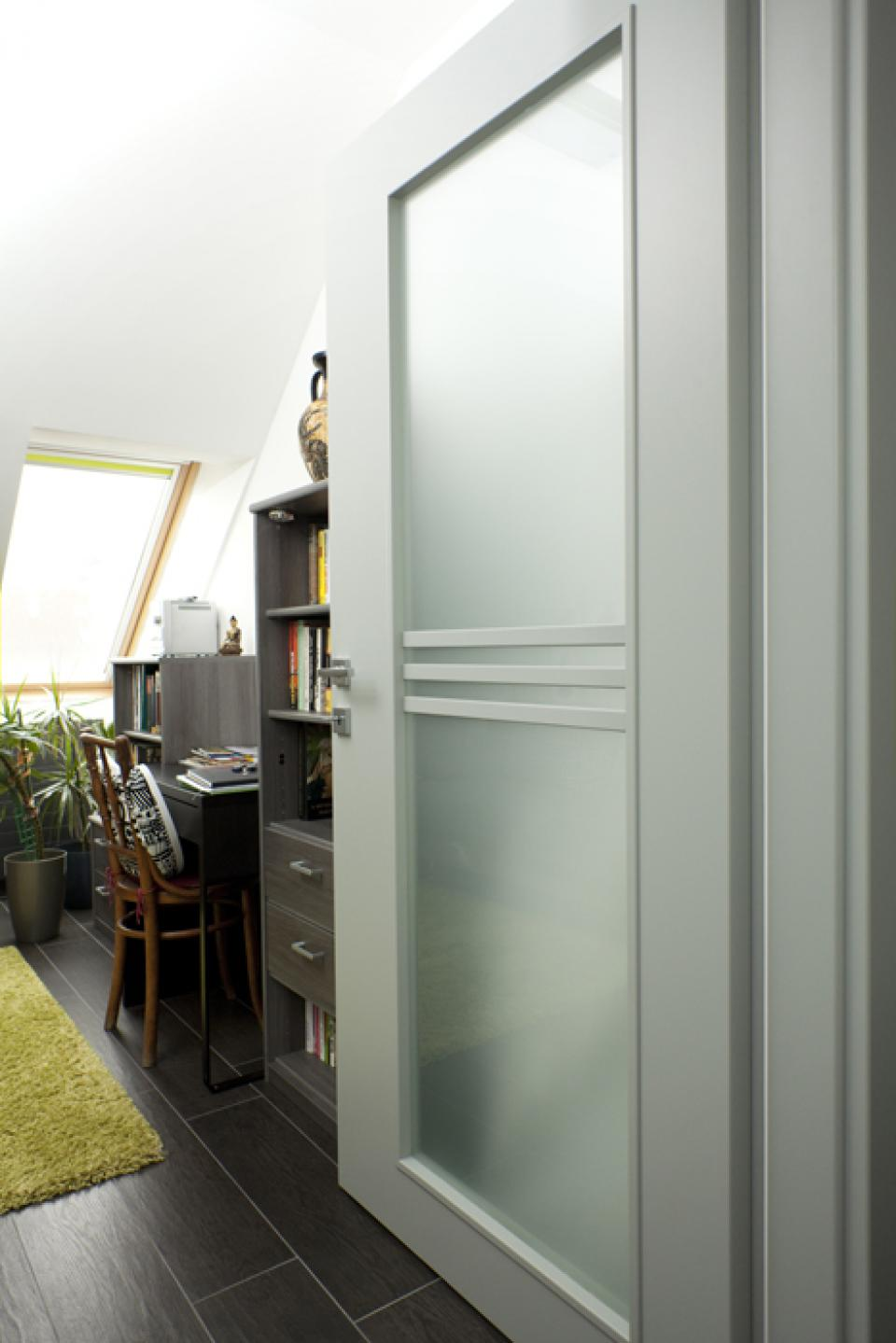Bern III belsőajtók egy budai társasházban | Referencia - Ajtóház